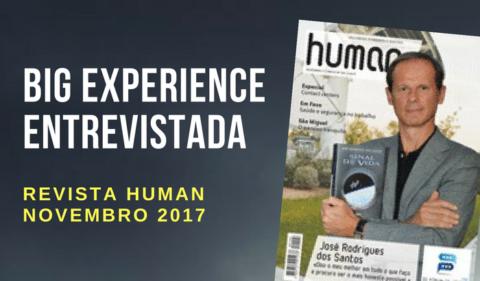 Revista Human entrevista Big Experience [Novembro 2017]