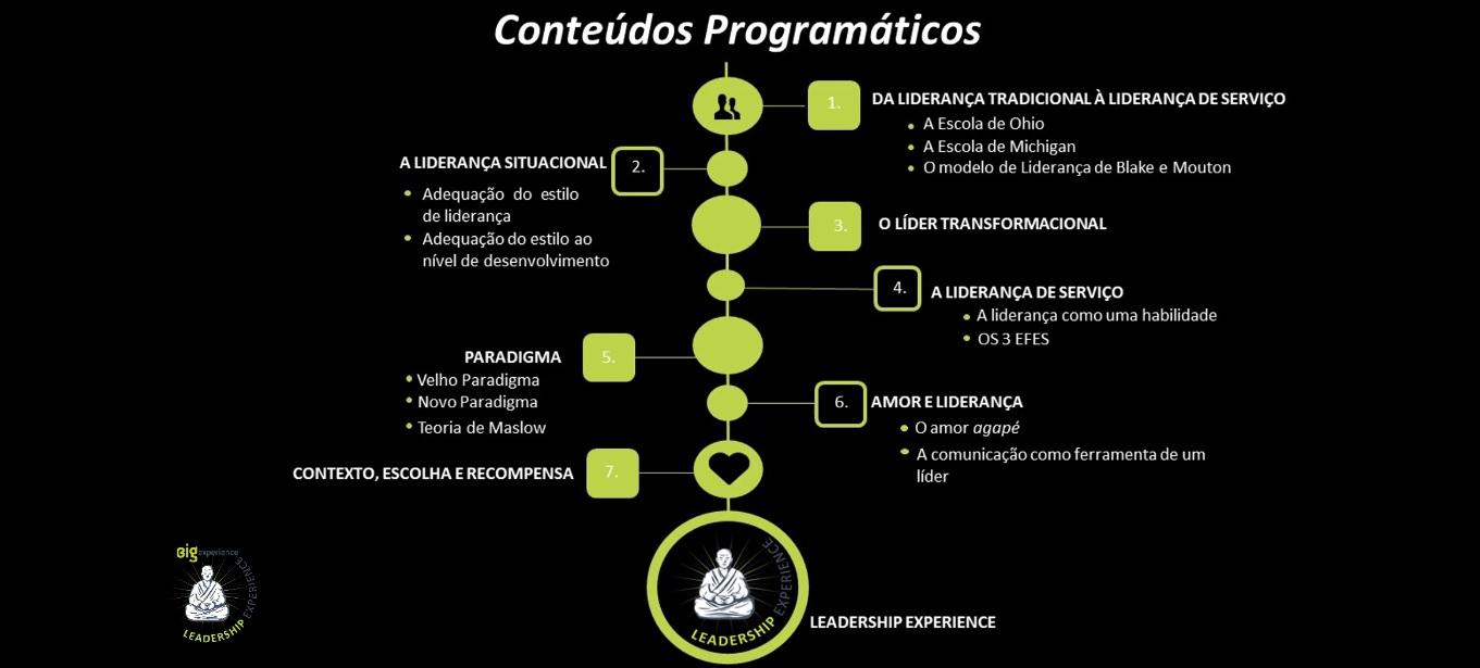 CONTEUDOS LIDERANÇA CURSO
