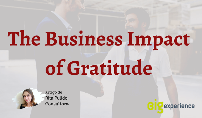 The Business Impact of Gratitude