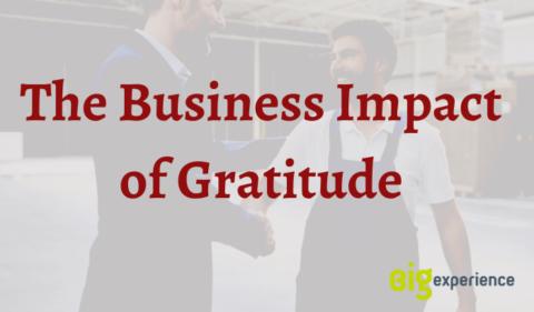 business impact of gratitude