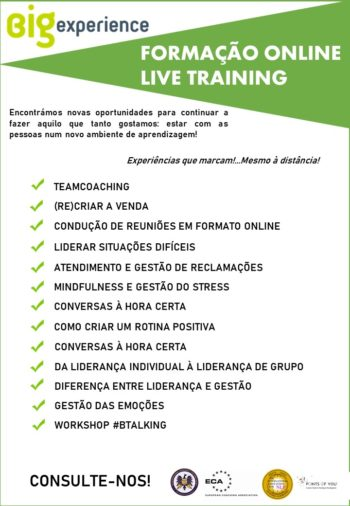 formacao online training