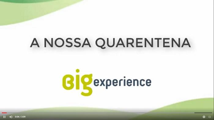 quarentena da big experience